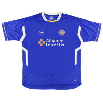 2005-06 Leicester Home Shirt L