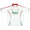 2005-06 Liverpool Away Shirt Carragher #23 L