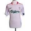 2005-06 Liverpool Away Shirt Gerrard #8 S