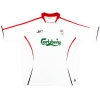 2005-06 Liverpool Away Shirt Gerrard #8 M