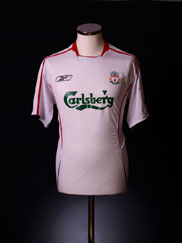 2005-06 Liverpool Away Shirt M