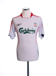 2005-06 Liverpool Away Shirt S