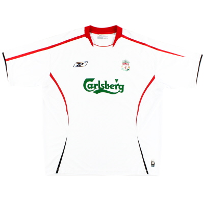 2005-06 Liverpool Away Shirt XS