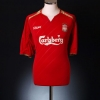 2005-06 Liverpool Champions League Home Shirt Gerrard #8 L