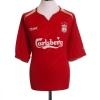2005-06 Liverpool CL Home Shirt Gerrard #8 XL