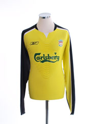 2005-06 Liverpool Goalkeeper Shirt L