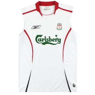 2005-06 Liverpool Reebok Training Vest L