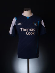 2005-06 Manchester City Away Shirt M