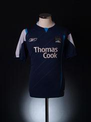 2005-06 Manchester City Away Shirt S