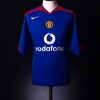 2005-06 Manchester United Away Shirt Ronaldo #7 S