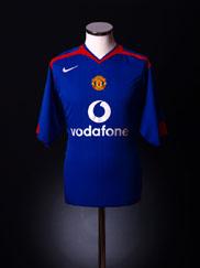 2005-06 Manchester United Away Shirt M