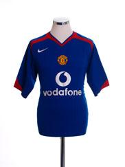 2005-06 Manchester United Away Shirt XL
