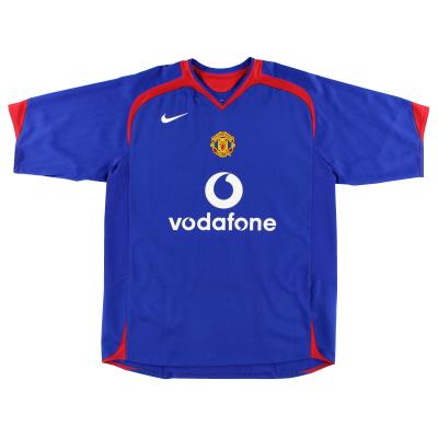 2005-06 Manchester United Away Shirt L