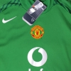 2005-06 Manchester United Goalkeeper Shirt Van Der Sar #19 *BNWT* M