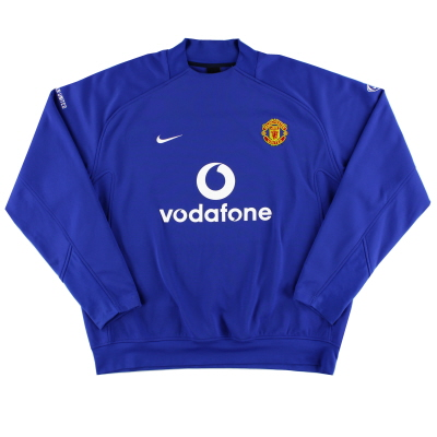 2005-06 Manchester United Nike Performance Shell XXL