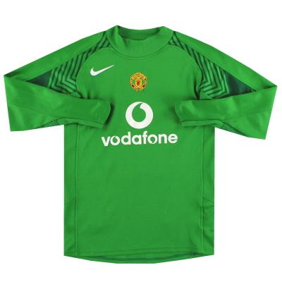 2005-06 Manchester United Nike Goalkeeper Shirt XL.Boys