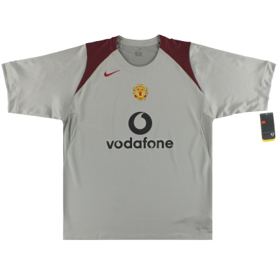 2005-06 Manchester United Nike Training Shirt *w/tags* XL