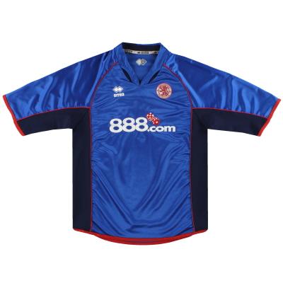 2005-06 Middlesbrough Errea Away Shirt Y