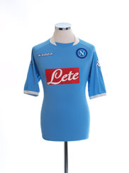 2005-06 Napoli Home Shirt XL
