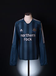 2005-06 Newcastle Away Shirt L/S L