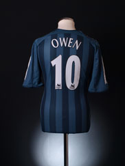 2005-06 Newcastle Away Shirt Owen #10 L