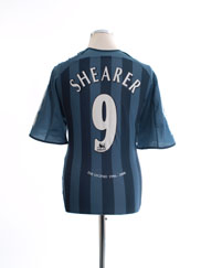 2005-06 Newcastle Away Shirt Shearer #9 L