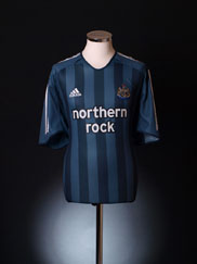 2005-06 Newcastle Away Shirt L