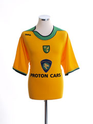 2005-06 Norwich City Home Shirt M