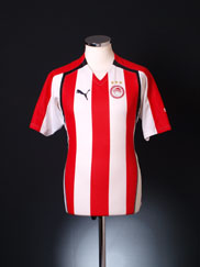 2005-06 Olympiakos Home Shirt L
