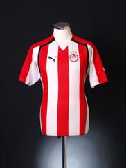 2005-06 Olympiakos Home Shirt L