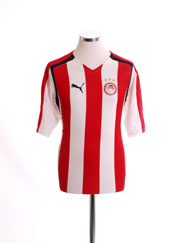 2005-06 Olympiakos Home Shirt M