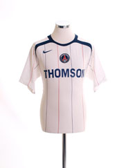 2005-06 Paris Saint-Germain Away Shirt S
