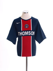 2005-06 Paris Saint-Germain Home Shirt *Mint* L