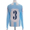 2005-06 Pescara Player Issue Home Shirt #3 L/S XL