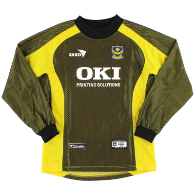 2005-06 Portsmouth Jako Goalkeeper Shirt *Mint* S