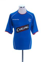 2005-06 Rangers Home Shirt *Mint* M
