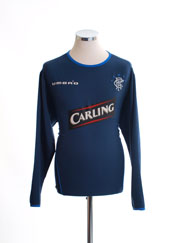 2005-06 Rangers Third Shirt L/S L