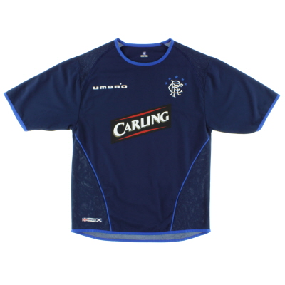 2005-06 Rangers Third Shirt M