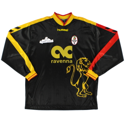 2005-06 Ravenna Away Shirt L/S XL
