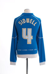 2005-06 Reading Home Shirt Sidwell #4 L/S L