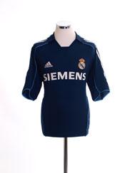 2005-06 Real Madrid Away Shirt M