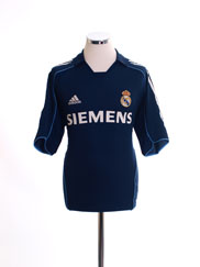 2005-06 Real Madrid Away Shirt M