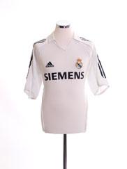 2005-06 Real Madrid Home Shirt L