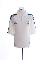 2005-06 Real Madrid Polo Shirt XL