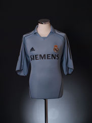 2005-06 Real Madrid Third Shirt L