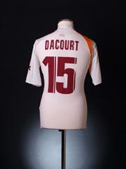 2005-06 Roma Away Shirt Dacourt #15 L