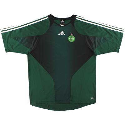 2005-06 Saint-Etienne adidas Training Shirt XXL