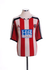 2005-06 Sheffield United Home Shirt XL