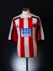 2005-06 Sheffield United Home Shirt L
