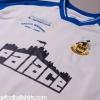 2005-06 Southport  Match Worn Away Shirt Blakeman #17 XL